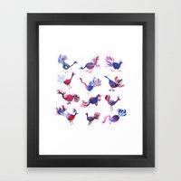 Purple Palette  Framed Art Print