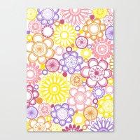 BOLD & BEAUTIFUL Summert… Canvas Print