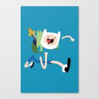 Adventure Time - Finn Canvas Print