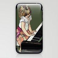 PIANO LESSON iPhone & iPod Skin