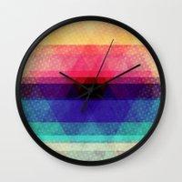 The Heart Of The Mountai… Wall Clock