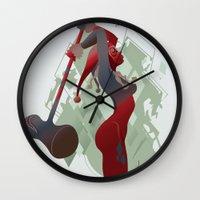 PONDERING Wall Clock