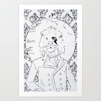 Richard Coeur Art Print