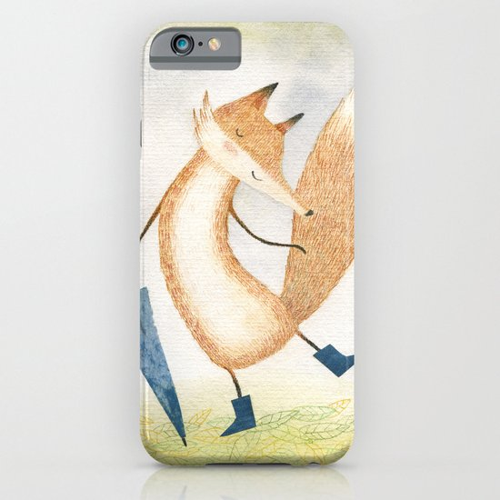 It stopped raining, Mr Fox iPhone & iPod Case