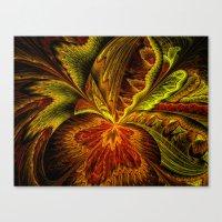 Autumn Orchid Canvas Print