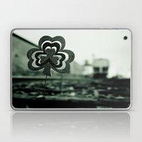 Railway shamrock Laptop & iPad Skin