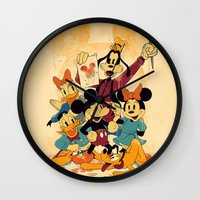 Fun In Colors Wall Clock