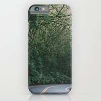 drive through the woods iPhone 6 Slim Case