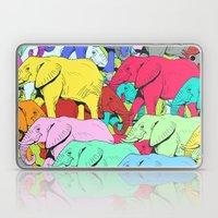 Elephants Parade Laptop & iPad Skin