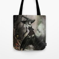 Witch Of Pendle Tote Bag