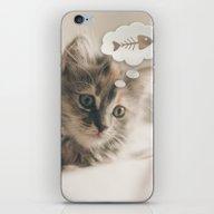 Dreaming Cat iPhone & iPod Skin