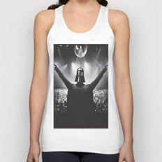 Darth Vader rocks the party Unisex Tank Top