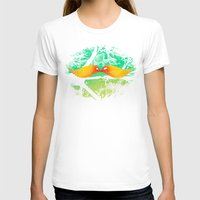 mustache T-shirts featuring mustache by sustici