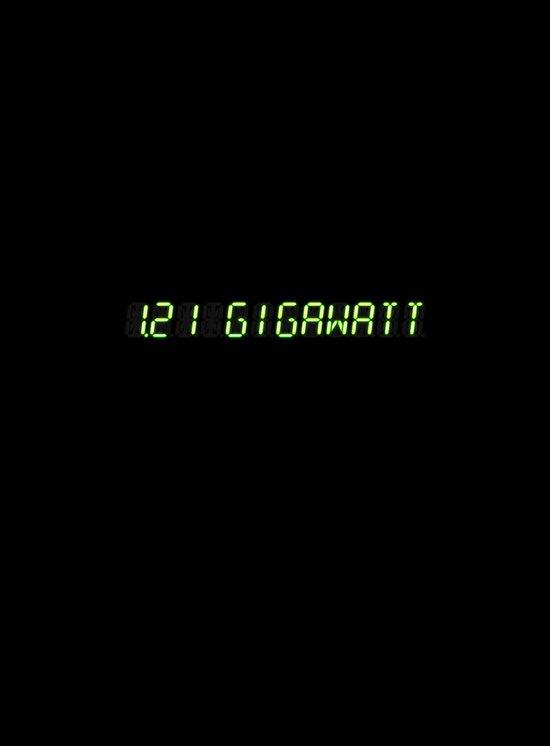 1.21 Gigawatt - Back to the future Art Print