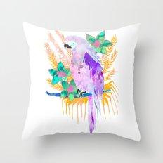 PARROT Elua Style B Throw Pillow