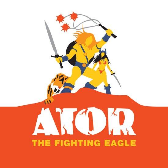 Ator: The Fighting Eagle Art Print