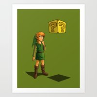 What Do I Do With This? … Art Print