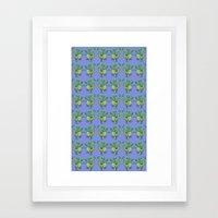 Dragon pattern Framed Art Print