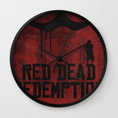 Red Dead Redemption Wall Clock