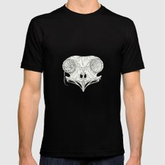 Hiding Place Black Mens Fitted Tee SMALL