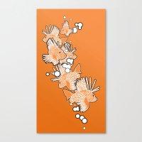 Scorpio fish Canvas Print