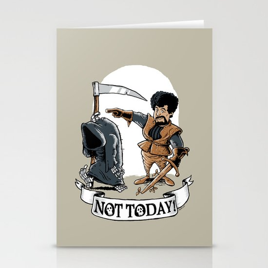 Not today! Stationery Card