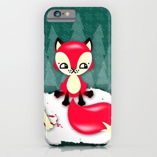 Fox's Christmas Dinner iPhone & iPod Case