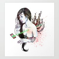 21st Century Escapist  /… Art Print