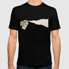Top Secret (spray) Mens Fitted Tee Black SMALL