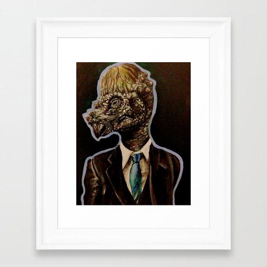 Pachycephalosaurus Framed Art Print
