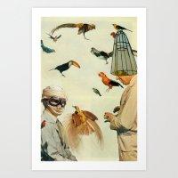 Ornithology Art Print