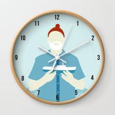 The Life Aquatic with Steve Zissou Wall Clock