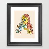 Shades Of Cool Framed Art Print