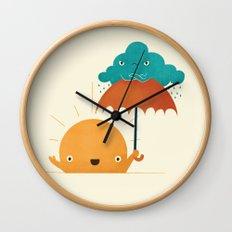 Lighten Up! Wall Clock