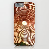 iPhone & iPod Case featuring Incense Rings by Ananya Ghemawat