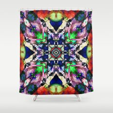 Textured Balance Of Colo… Shower Curtain