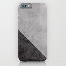 Concrete with black triangle Slim Case iPhone 6s