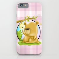 iPhone & iPod Case featuring Honey Bear by MindyLouHagan