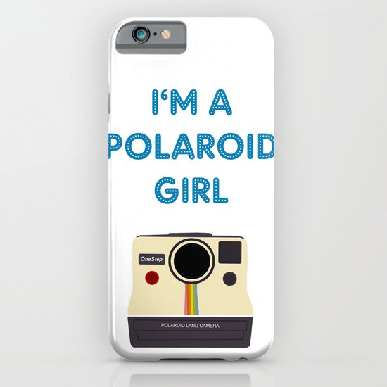 Polaroid Girl - Offshoot print iPhone & iPod Case