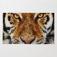 Animal Art - Tiger Rug