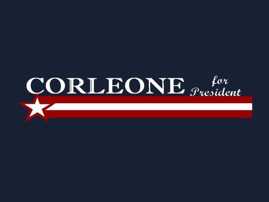 Corleone for President Art Print