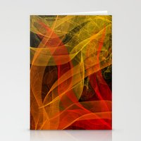 Warm Color Collab Stationery Cards