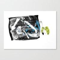 Bag Of Bones Canvas Print