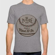 T-shirt featuring The Future Ain't What It… by Landon Sheely