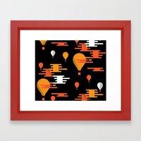 Travel - Hot Air Framed Art Print