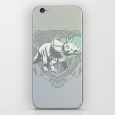Fearless Creature: Frill iPhone & iPod Skin