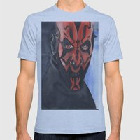 Darth Maul Mens Fitted Tee Athletic Blue SMALL