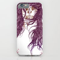 iPhone & iPod Case featuring Give us a kiss (bw) by Sami Shah