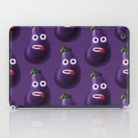 Stressed Out Eggplant iPad Case