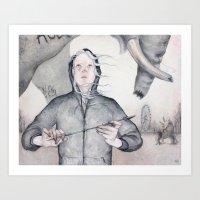 Hanna Art Print